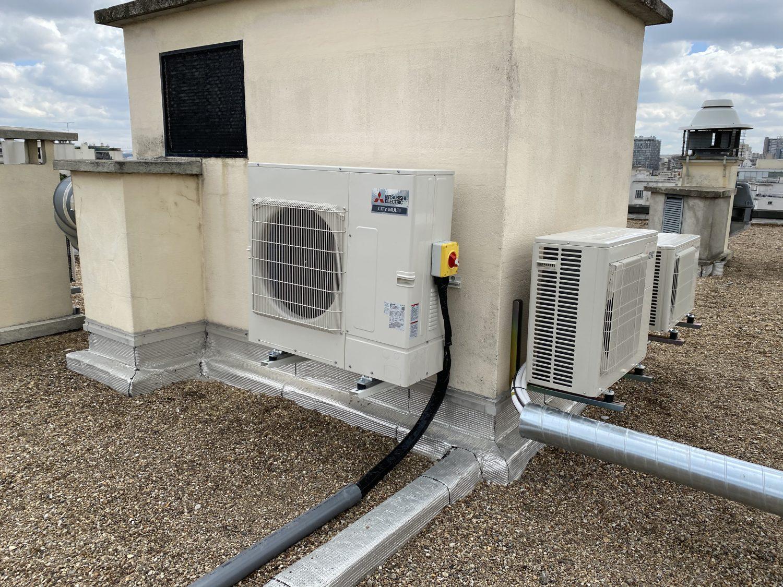 Système de chauffage installe par l'équipe Optense
